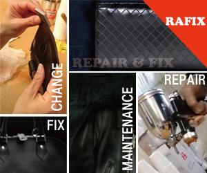 鞄修理・財布修理・バック修理の事ならRAFIXにお任せください